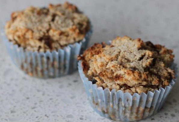 Banana, Date and Coconut Muffins