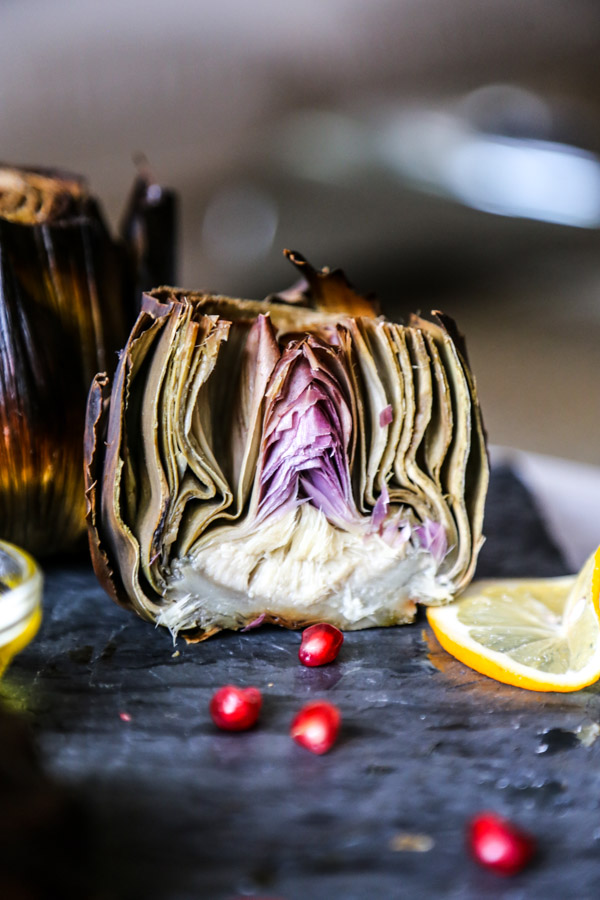 Roasted Artichoke with Garlic and Sage